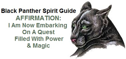 Black Panther Animal Spirit Guide