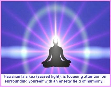 "Hawaiian Harmony ""Sacred Light"" Exercise"