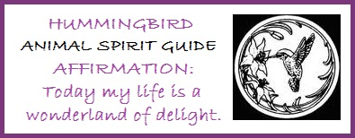 Animal Spirit Guide Hummingbird