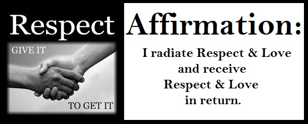 Tuesday's Healing Word - Respect