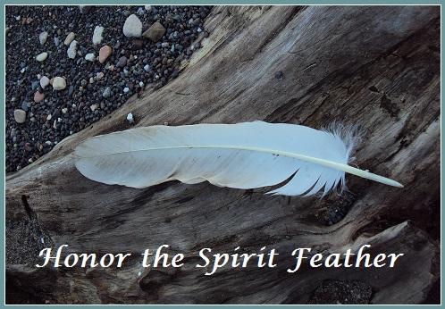 Honor The Spirit Feathers
