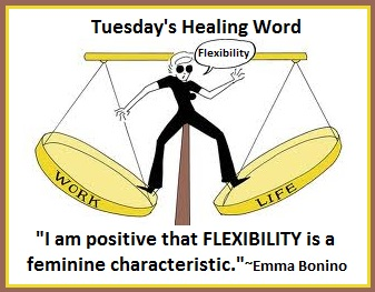Tuesday's Healing Word Flexibility