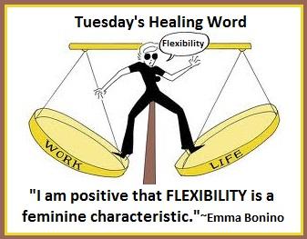 Tuesday's Healing Word Flexibility