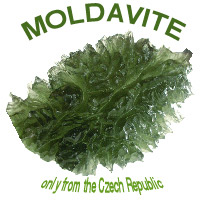 Moldavite Space Stone Energy Net