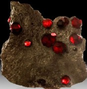 Healing Properties of the Red Garnets