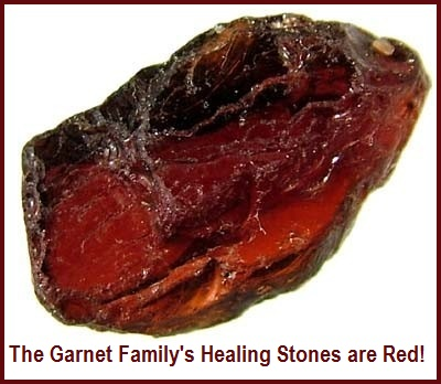 Healing Properties of Red Garnets