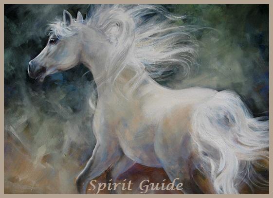 Animal Spirit Guide White Horse