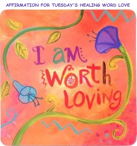 Tuesday's Healing Word Love