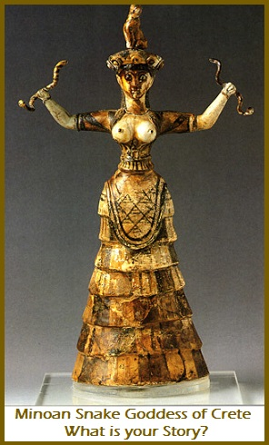 Minoan Snake Goddess Of Crete