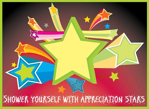 Shower Yourself with Appreciation Stars