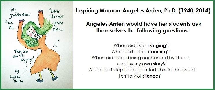 Inspiring Women-Angeles Arrien