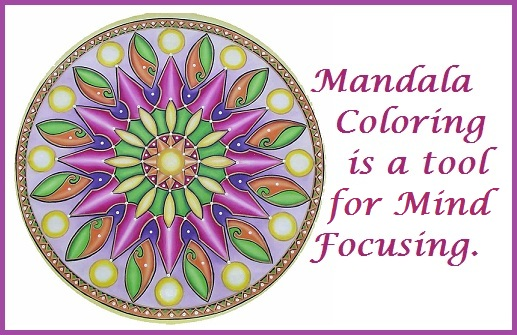 Color Mandalas for Color Therapy
