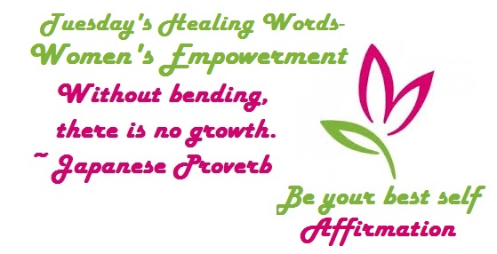 Tuesday's Words - Women's Empowerment
