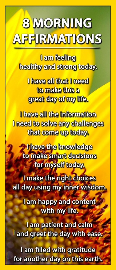 Affirmations for Self-Care