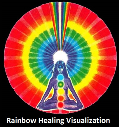 Rainbow Healing Visualization