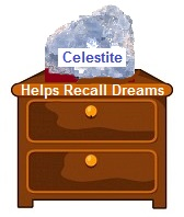 Crystals for Dream Recall