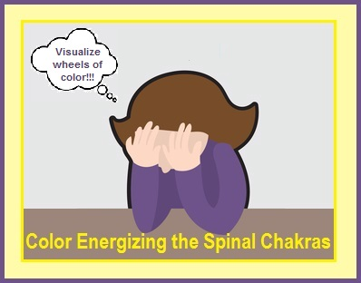 Color Energizing The Spinal Chakras