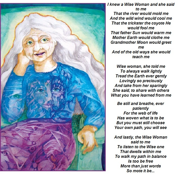 Wise Woman Poem