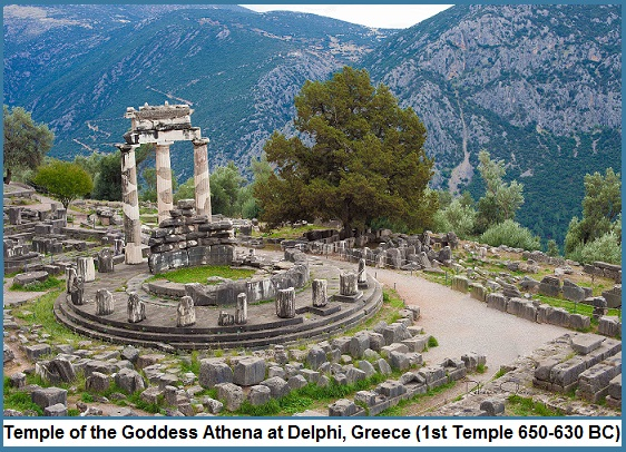 Athena Temple of Delphi-2