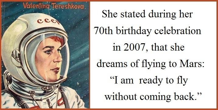 Inspiring Women - Valentina Tereshkova