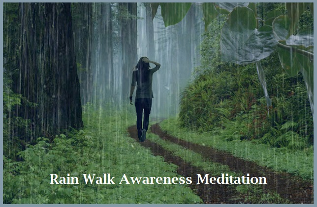 Rain Walk Awareness Meditation