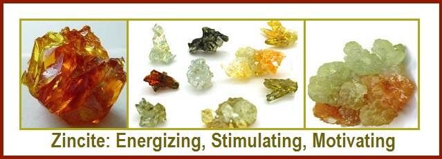 Zincite Healing Crystals