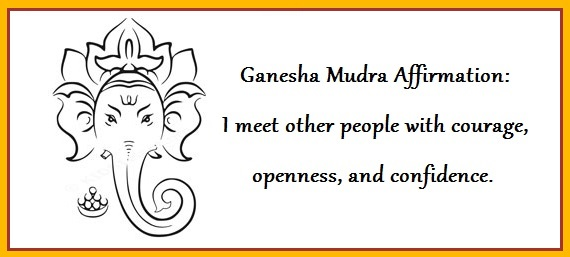Ganesha Mudra Stimulates Heart Energy