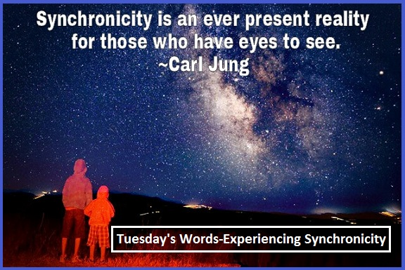 Tuesday's Words - Experiencing Sychronicity