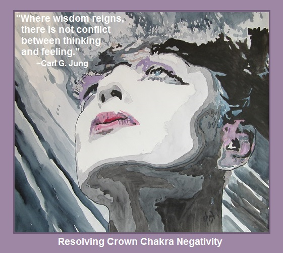 Resolving Crown Chakra Negativity