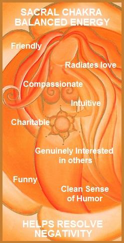 Resolving Sacral Chakra Negativity