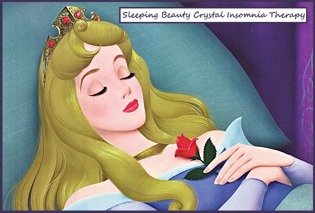 Sleeping Beauty Crystal Insomnia Therapy