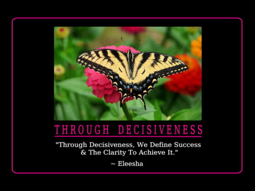 Tuesday's Healing Word - Decisiveness