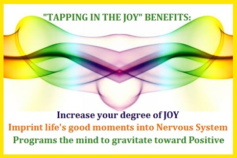 Tapping in The Joy Benefits