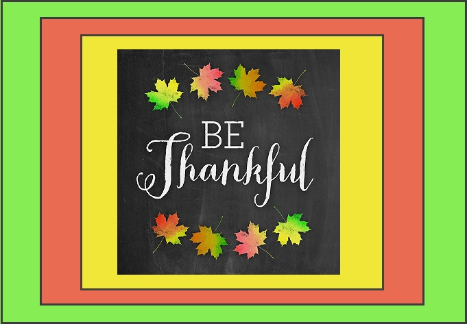 Healing Power of Being Thankful