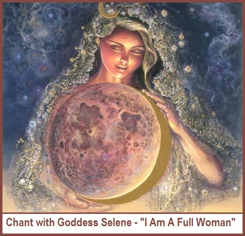 Women Connect With Goddess Selene