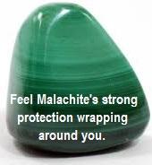 Meditating With Malachite