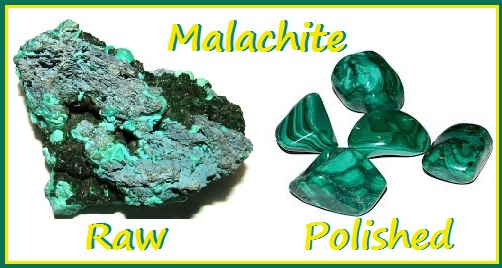 Meditating With Malachite