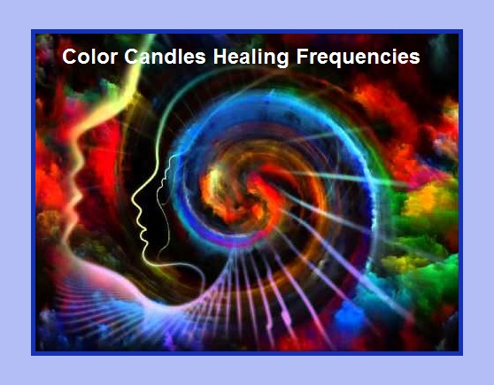 Candle Colors Healing Chart