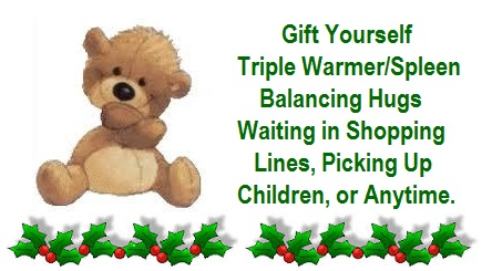 Triple Warmer/Spleen Balancing Hug