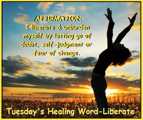 Tuesday's Healing Word - Liberate