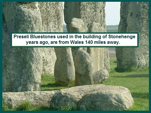 Preseli Bluestones Increase PP & Manifestation