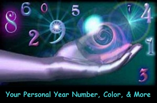 Your Personal Year Number & Color