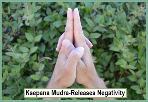 Ksepana Mudra - Releases Negativity
