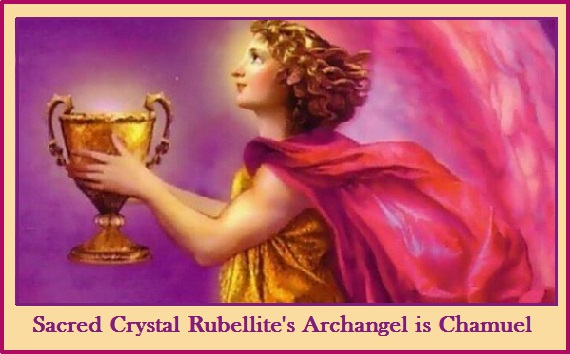 Rubellite Sacred Crystal & Archangel Chamuel