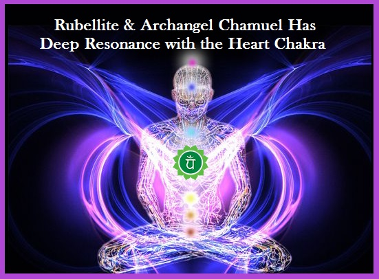 Rubellite Sacred Crystal & Archangel Chamuel