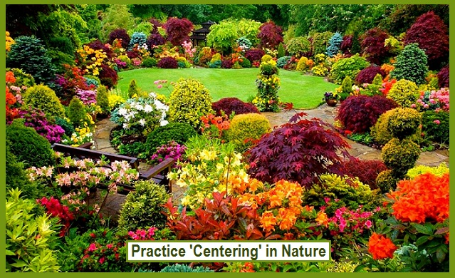 Practice 'Centering' in Nature