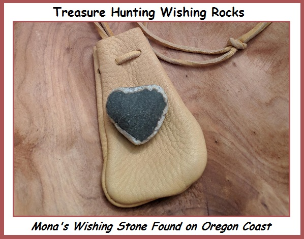 Treaure Hunting Wishing Rocks