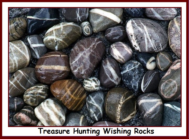 Treasure Hunting Wishing Rocks